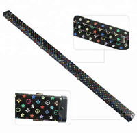 SNOOKER/POOL 3/4 CUE CASE.BLACK WITH MULTI COLOURED PATTERN STYLE. FREE DELIVERY