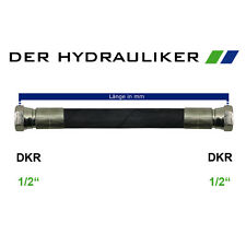 "Hydraulik Schlauchleitung 2SC G1/2""(NW12) - AGR/DKR/DKR45/DKR90, Zöllig 275bar"