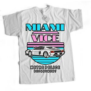 Miami Vice Inspired Action Drama Crime Horror Sci Fi Retro 90S T Shirt