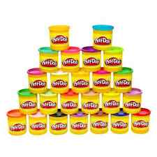 Play Doh 24 Pack of Colors Kids Fun Molding Clay Dough Pretend Modeling Toys
