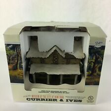 Museum Of The City Four Seasons Life Christmas Village Currier & Ives Collection