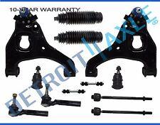 Silverado 1500 Sierra 2WD Front Lower Control Arm Ball Joint Tierod 12p kit