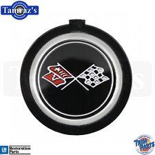 1976-80 Corvette w/o Tilt Steering Wheel Horn Button Emblem Insert   -  USA