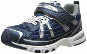 TSUKIHOSHI 3570 Storm Child Shoe Navy/Silver - 1 Little Kid 4-8 years