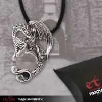 Echt etNox Drache Crystal Dragon Anhänger Silber Gothic Schmuck - NEU