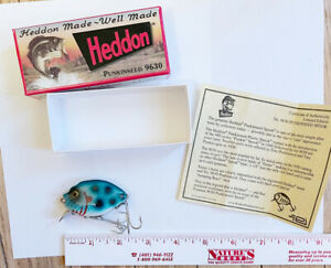 HEDDON PUNKINSEED 1ST QUALITY 9630 FLS-GREEN SCALE WITH SPOTS