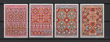 artisanat ceintures de Fès 1968 Royaume du Maroc série de 4 timbres neufs /T543
