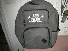 Nos Bob Dylan and His Band 2019 Tour Vip Back Pack