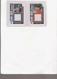 2013/14 IN THE GAME TEEMU SELANNE DECADES-1990'S GAME USED JERSEY CARD #M-40