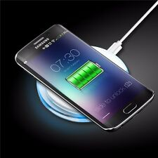 INDUKTIVE LADESTATION LADEGERÄT KABELLOS SAMSUNG GALAXY S6 S7 EDGE PLUS NOTE 5
