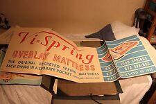 VINTAGE COMMERCIAL ARTWORK, VI-SPRING MATTRESS , 1950s / 60s