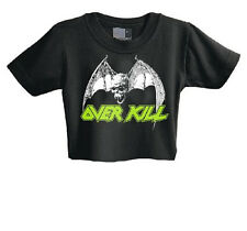 OVERKILL - Classic Bat - Baby Kinder Kid Toddler Shirt - Size 3-6 Monate Month