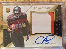 2014 Charles Sims Panini Immaculate Premium Patches Auto #'d 26/49 3 Color