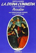 DANTE GIACALONE La Divina Commedia Paradiso ZANICHELLI 9788808000712