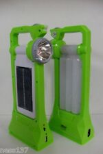 Lampe Autonome Rechargeable Solaire & Secteur 230V USB Led Orientable Camping