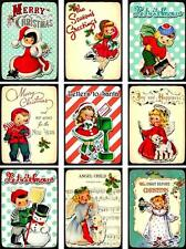 Letters To Santa  ~ Christmas Card Making Toppers / Scrapbooking - Gloss Finish