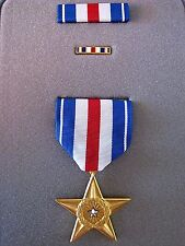 ORIGINAL UNITED STATES SILVER STAR GALLANTRY MEDAL ORDER IN PRESENTATION CASE