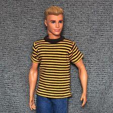 "Handmade doll clothes t-shirt for 1/6 ken dolls 12"""