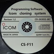 Icom CS-F11 for Icom IC-F11/F11S/IC-F12/IC-F12S/IC-F21/IC-F21S/IC-F22/IC-F22S