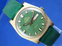 Mondaine Automatic Mens Watch Vintage Swiss 1970s ETA 2778 New old NOS