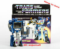 New box TRANSFORMERS G1 Reissue Soundwave with BUZZSAW cassette kids gifts toys