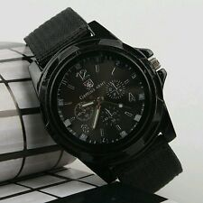 New Men Military Sports Fashion Cool Watch Fabric Strap Army Watch