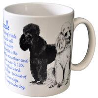 Poodle - Ceramic Coffee Mug - Dog Origins Breed