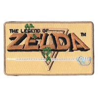 Nintendo The Legend of Zelda Tile Screen 8Bit Embroidered Iron on Patch