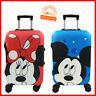 Minnie Mickey Reisekoffer Schutzhülle Reisen Urlaub elastischer Bezug Kinder