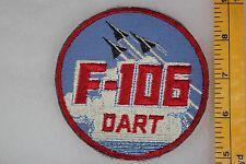 US Vietnam Or Korea F-106 Dart Cut Edge On Twill Squadron Patch SQ424