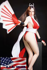 1/6 The King Of Fighters Mai Shiranui Doll Seamless Female Figure S10D Set ❶USA❶