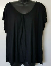 Dream Diva Black Size L Soft Short Sleeve Top - Like New