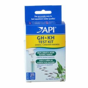API - Freshwater GH & KH Hardness Test Kit - 1 Kit