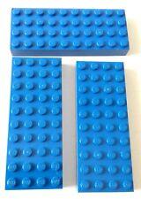 LEGO 3X BRICK 4X10 BLU LOTTO SET KG MATTONCINI SPED GRATIS SU + ACQUISTI