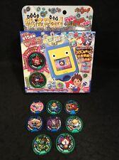 USA SELLER Bandai Yokai Watch Pad + 10 Medals