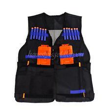 Jacket for Kids Gun Foam Dart Clip Nerf N-strike Elite Adjustable Vest Team Toys