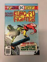 Kung Fu Fighter 9 DC comics 1976 Denny O'neil Ric Estrada