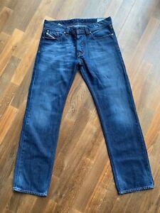 Blaue Herren Jeans # Diesel #  W33 L32 # Model Larkee # Regular Straight