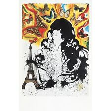 """SALVADOR DALI """" PARIS 1969"""" Limited Edition Lithograph. 1 of only 1700 Worldwide"""