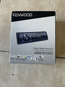 KENWOOD KMM-BT250U Single-DIN In-Dash Digital Media Receiver Bluetooth SiriusXM