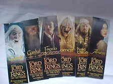 LORD OF THE RINGS BOOKMARKS, SET OF 6 2-SIDED