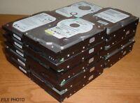 "(Lot of 10) Name Brand 640 GB SATA 3.5"" Desktop Hard Drives Tested Used 640GB"