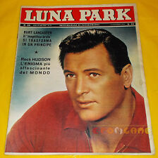 LUNA PARK 1962 n. 24 Rock Hudson, Burt Lancaster