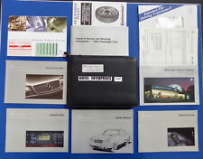 1999 Mercedes CLK 320 CLK320 Coupe Owner Manuals Operator Books Pouch Pack S187