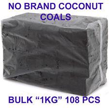 108 Pcs Natural Coconut Charcoal Hookah Shisha Coco Coals Nara Titanium BULK 1 K