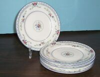 """LOT OF 6 WEDGWOOD ROSEDALE BREAD & BUTTER PLATES 6"""" NEVER USED FREE U S SHIPPING"""