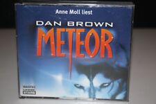 Anne Moll liest : Dan Brown METEOR - CD HÖRBUCH 6CD's BASTEI LÜBBE STARS