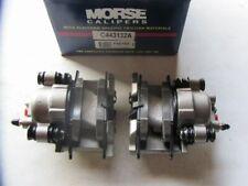 Morse P4616A FRONT Brake Caliper Set W/ Brake Pads For 1995-1997 Dodge Neon