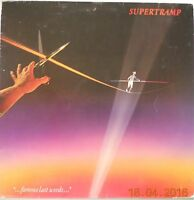 SUPERTRAMP-...FAMOUS LAST WORDS...1ST UK PRESS  VINYL LP 1982 VGC