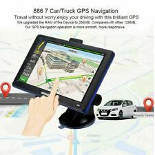 "7"" inch Truck Car Gps Navigation 8Gb Navigator Free Us Eu Map Touch Screen Fm"